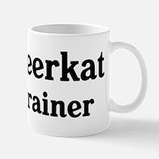 Meerkat trainer Small Small Mug