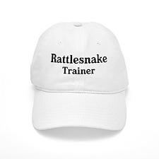 Rattlesnake trainer Baseball Cap