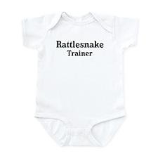 Rattlesnake trainer Infant Bodysuit