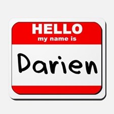 Hello my name is Darien Mousepad