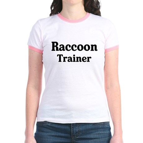 Raccoon trainer Jr. Ringer T-Shirt