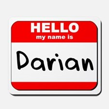 Hello my name is Darian Mousepad