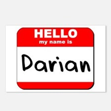Hello my name is Darian Postcards (Package of 8)
