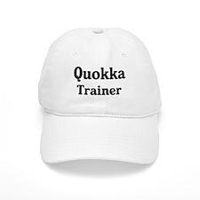 Quokka trainer Baseball Cap