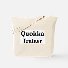 Quokka trainer Tote Bag