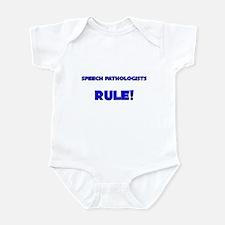 Speech Pathologists Rule! Infant Bodysuit