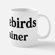 Lovebirds trainer Mug