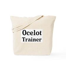 Ocelot trainer Tote Bag