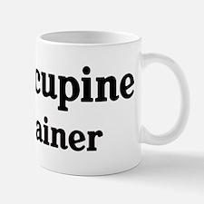 Porcupine trainer Small Small Mug