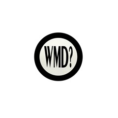 WMD? 1 Inch Mini Button (100 pack)