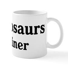 Plesiosaurs trainer Mug