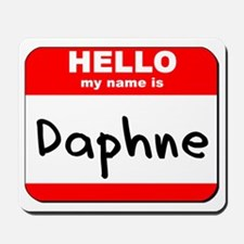 Hello my name is Daphne Mousepad