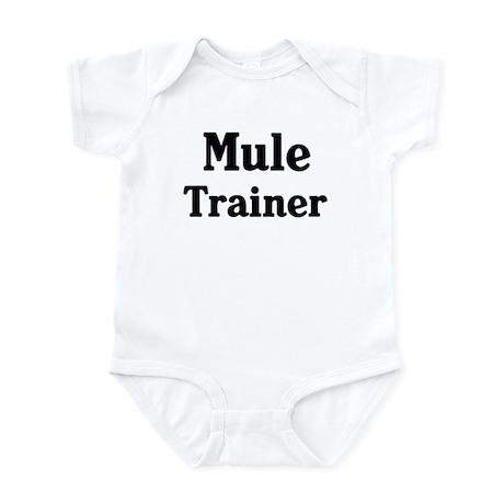 Mule trainer Infant Bodysuit