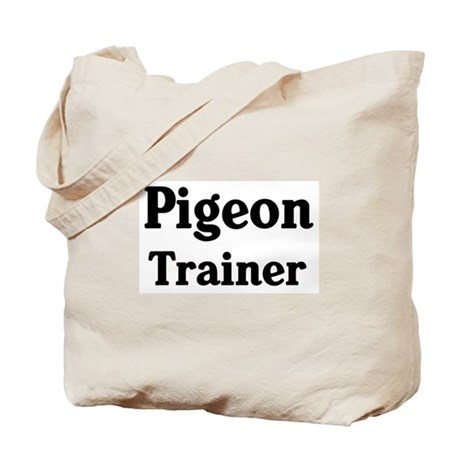 Pigeon trainer Tote Bag