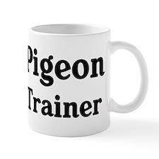 Pigeon trainer Small Mug