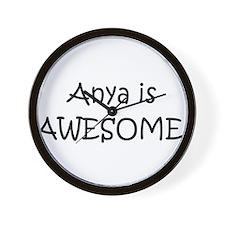 Unique Anya Wall Clock