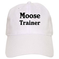 Moose trainer Baseball Cap
