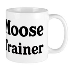Moose trainer Small Mug