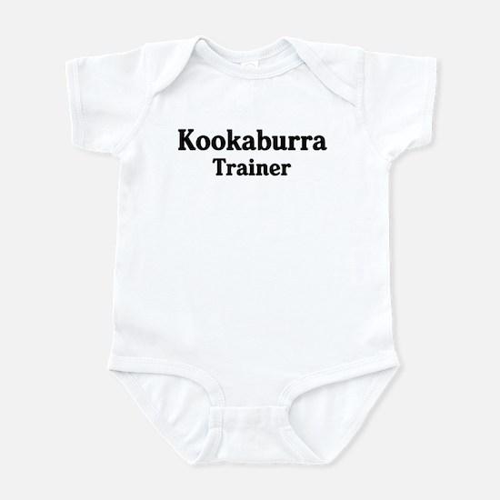 Kookaburra trainer Infant Bodysuit