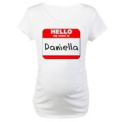 Hello my name is Daniella Shirt