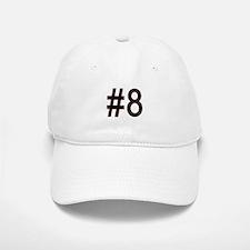#8 for baby number eight. Baseball Baseball Cap