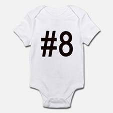 #8 for baby number eight. Infant Bodysuit
