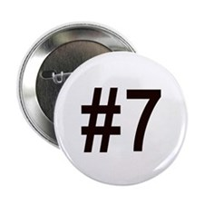 """#7 birth order baby number seven 2.25"""" Button"""