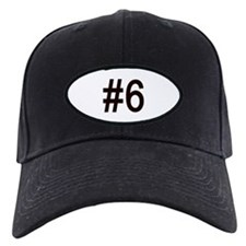 #6 birth order baby number six Baseball Cap