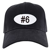 Number 6 Hats & Caps