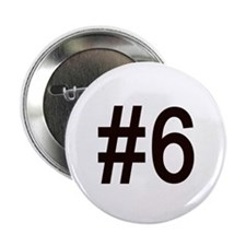 """#6 birth order baby number six 2.25"""" Button"""