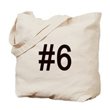 #6 birth order baby number six Tote Bag