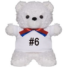 #6 birth order baby number six Teddy Bear