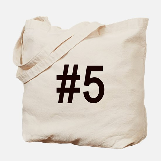 #5 birth order baby number five Tote Bag