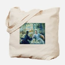 Lunch at the Restaurant Fournais Tote Bag