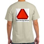 Slow Moving Vehicle Sign - Ash Grey T-Shirt