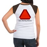 Slow Moving Vehicle Sign - Women's Cap Sleeve T-Sh