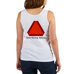 Slow Moving Vehicle Sign - Women's Tank Top