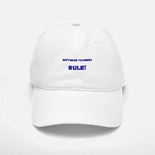 Software Trainers Rule! Baseball Baseball Cap