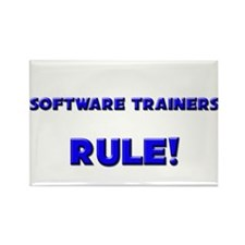 Software Trainers Rule! Rectangle Magnet