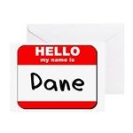Hello my name is Dane Greeting Cards (Pk of 20)