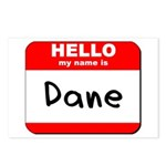 Hello my name is Dane Postcards (Package of 8)
