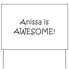 Anissa Yard Sign