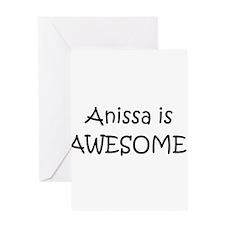 Anissa Greeting Card