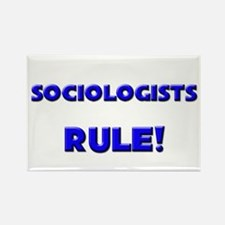 Sociologists Rule! Rectangle Magnet