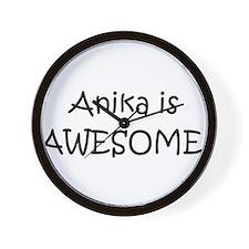 Funny Anika Wall Clock