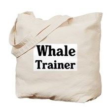 Whale trainer Tote Bag