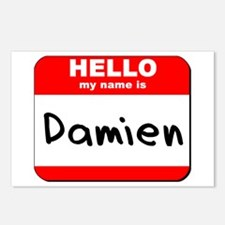Hello my name is Damien Postcards (Package of 8)