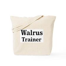 Walrus trainer Tote Bag