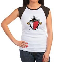 Hip Bahrain Women's Cap Sleeve T-Shirt