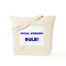 Social Workers Rule! Tote Bag